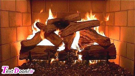 چوب شومینه