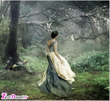 اين زندگي چون دويدن به دنبال باد بيهوده است... ...